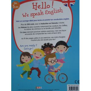 Hello we speak english dès 5 ans
