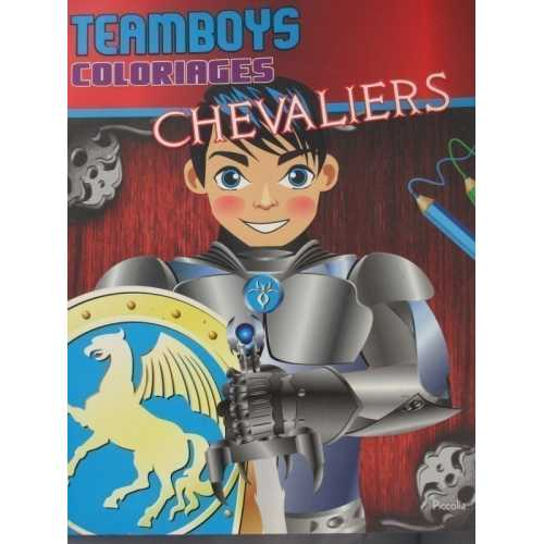 Teamboys coloriages chevaliers