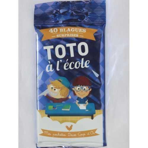 40 Devinettes surprises Toto à l'école mes Deux coqs d'or