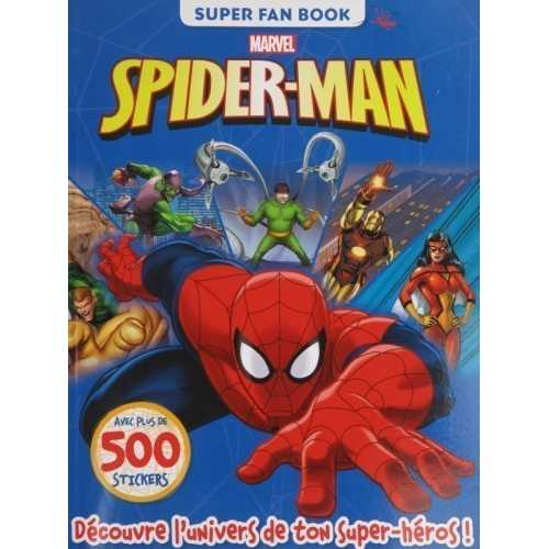 Spider-man ultimate marvel avec plus de 500 stickers