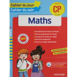 Maths cahier du jour cahier du soir CP 6-7 ans