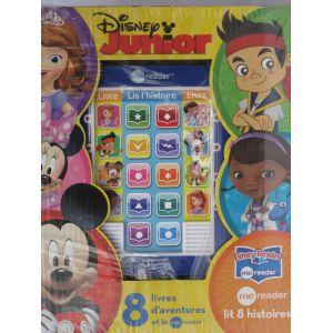 Disney junior avec tablette de lecture et 8 livres (princesse sofia,la maison de mickey,docteur la peluche...)