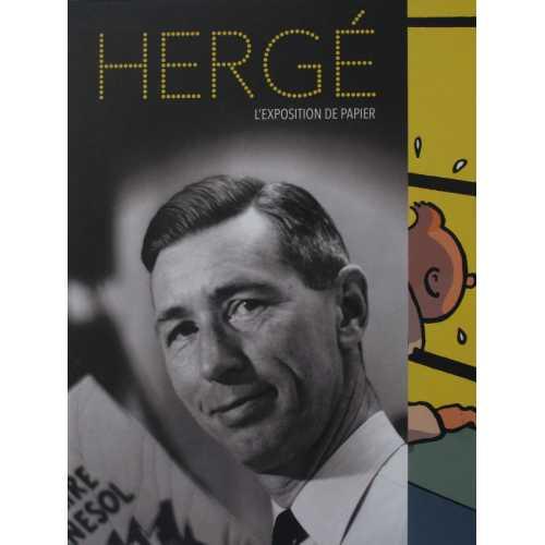 Hergé l'exposition de papier