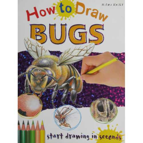 How to draw bugs start drawing in seconds
