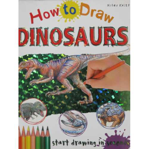How to draw dinosaurs start drawing in seconds
