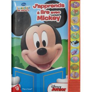 La maison de Mickey j'apprends à lire avec Mickey