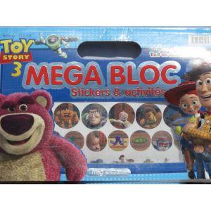 Mega Bloc Toy story 3 - Stickers et activités