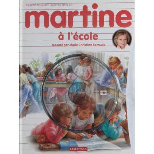Martine à l'école avec cd audio