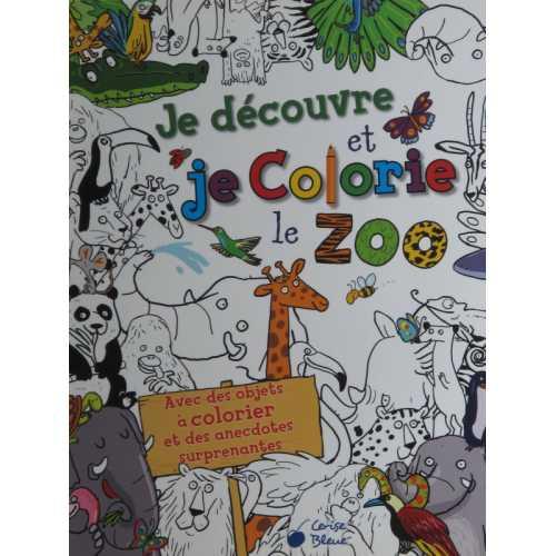 Je découvre et je colorie le zoo