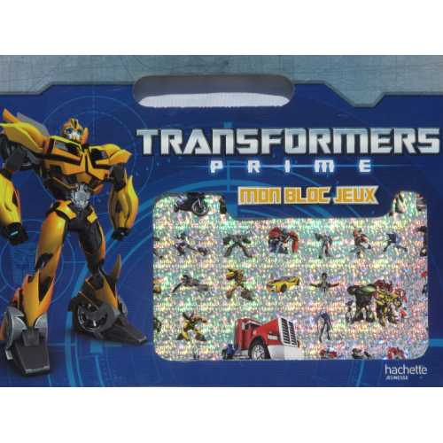 Transformers prime: Mon bloc de jeux