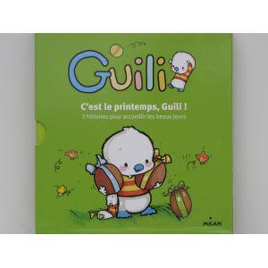GUILLI C'est le primtemps, Guilli. 3 Histoire pour acceuillière les beaux jours . Coffret de 3 livres