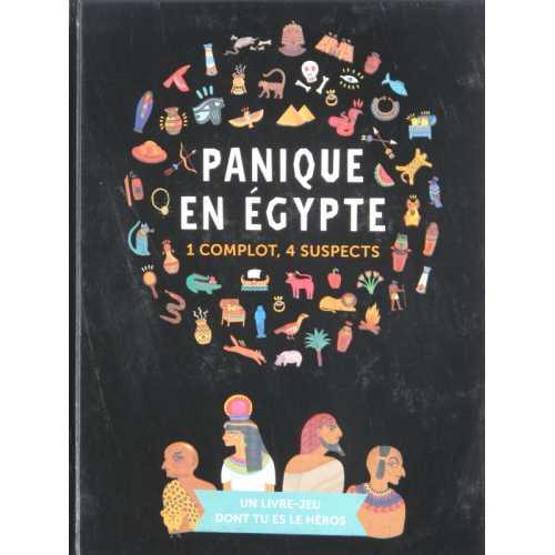 Panique en égypte 1 Complot, 4 Suspects
