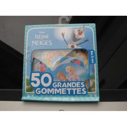 50 gommettes la reine des neiges 9782013304153