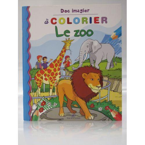Doc imagier à colorier, le zoo.