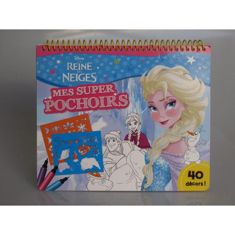 La reine des neiges. Mes super pochoirs 40 décors Disney.