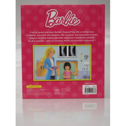 Barbie apprentie docteur.