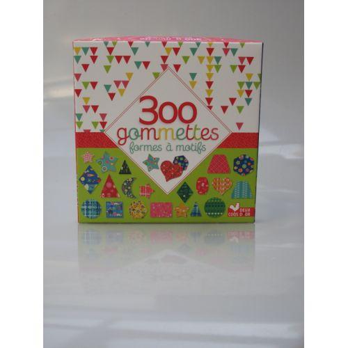 300 Gommettes formes à motifs.