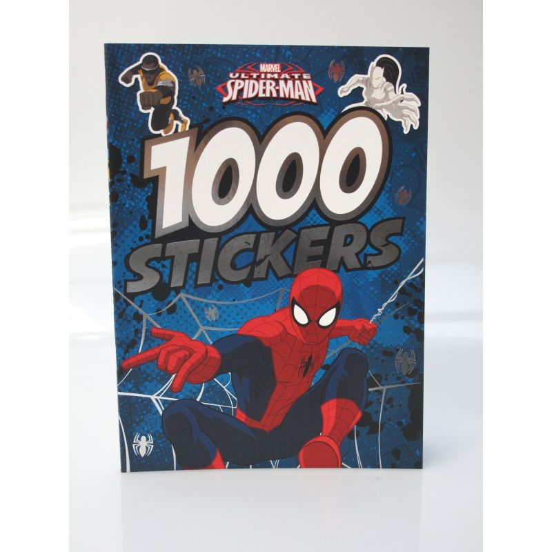 1000 Stickers Marvel ultimate Spider-Man.