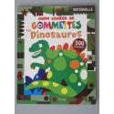 Mon cahier de gommettes les dinosaures. 500 Gommettes.