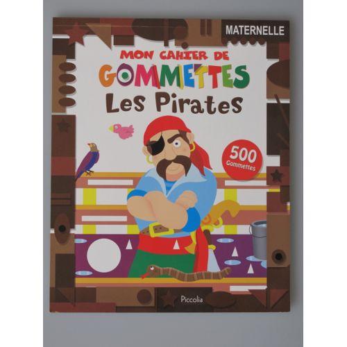 Mon cahier gommettes les pirates 500 gommettes.