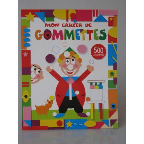 Mon cahier de gommettes. 500 Gommettes.