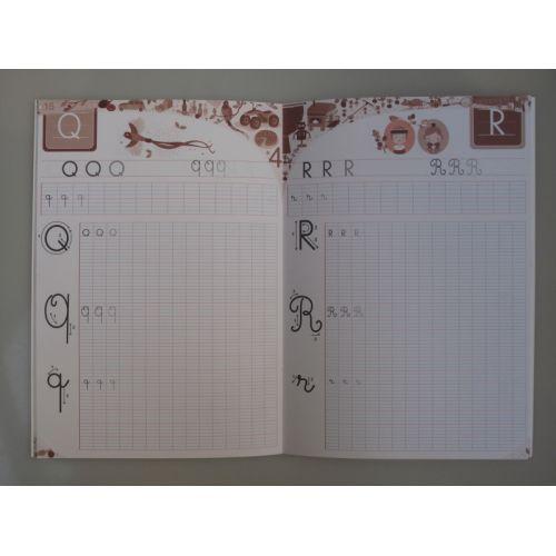 Mon premier cahier d'écriture. A personnalisé! Capitale et cursive.