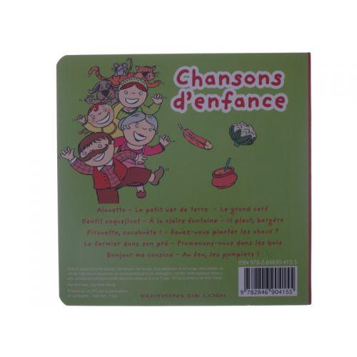 Chansons d'enfance. Livre CD.
