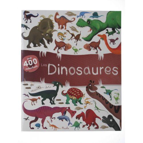 Les dinosaures. Avec 400 autocollants.