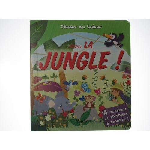 Chasse au trésor dans la jungle! 4 missions et 20 objets à trouver!