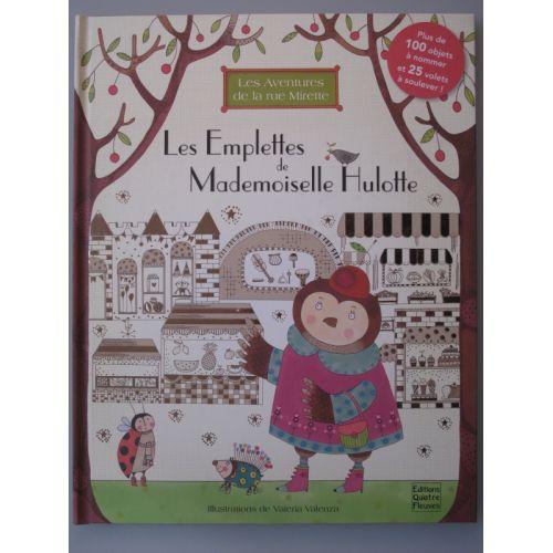 Les emplettes de Mademoiselle Hulotte. 100 objets à nommer 25 volets à soulever.