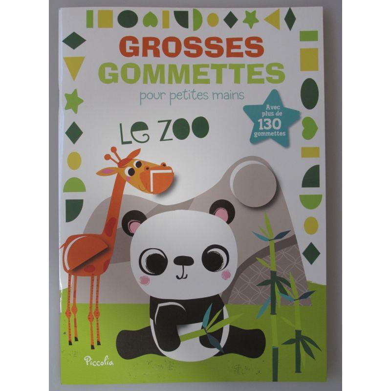 GROSSES GOMMETTES POUR PETITES MAINS avec plus de 130 gommettes.